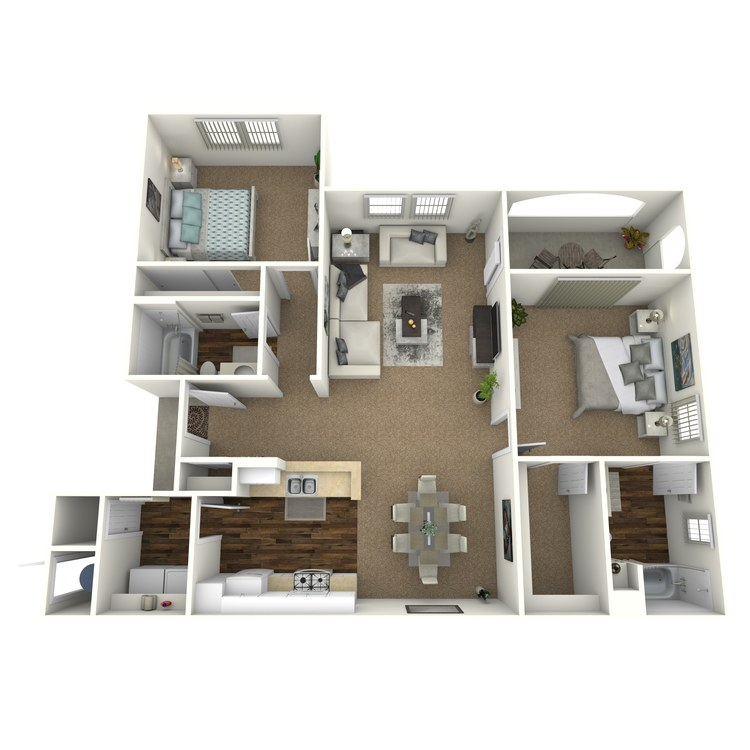 Floor plan image of Santa Cruz
