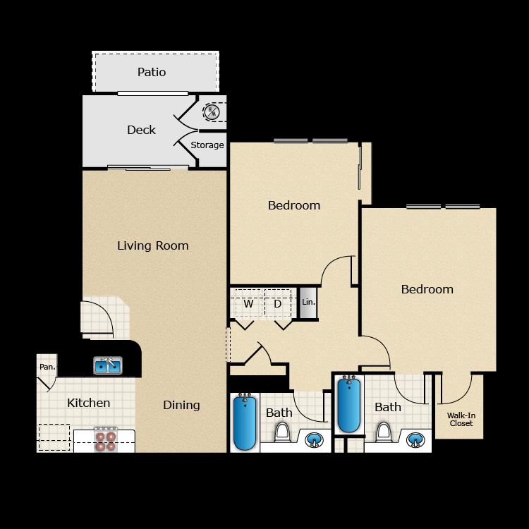Santa Barbara floor plan image