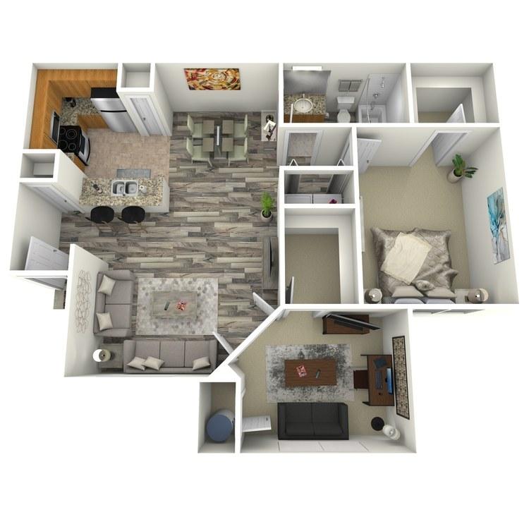 Floor plan image of Amethyst
