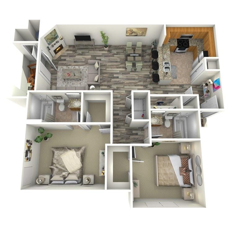 Floor plan image of Malachite