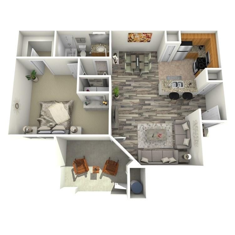 Floor plan image of Garnet