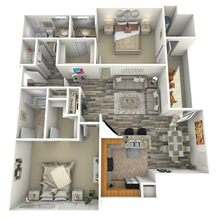 Floor plan image of Topaz
