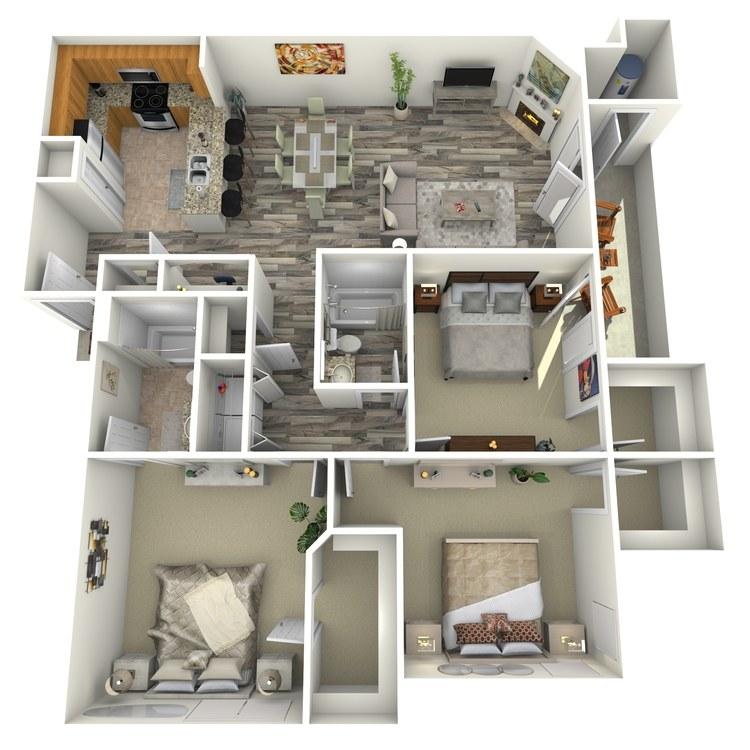 Floor plan image of Carnelian