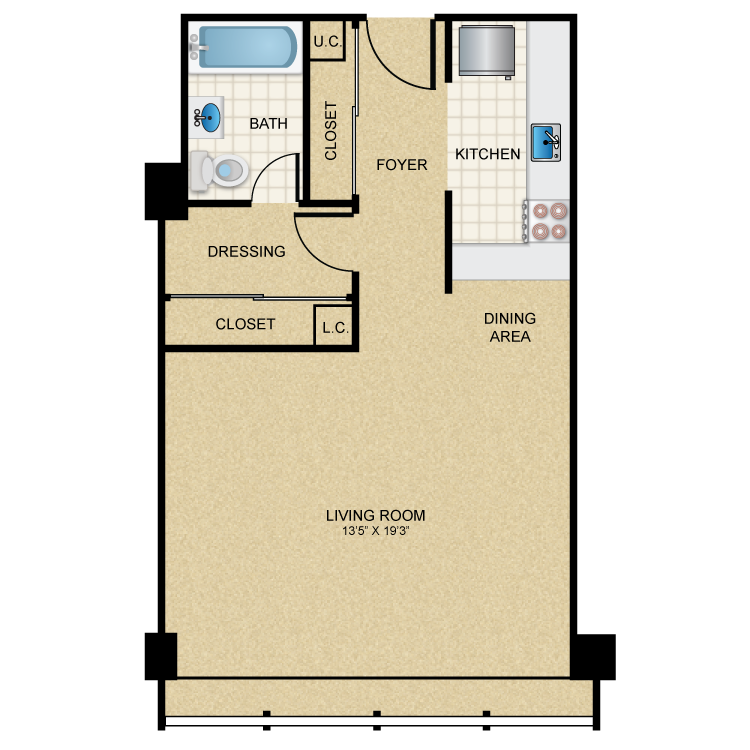 S1. Colonnade Apartments   Availability  Floor Plans   Pricing