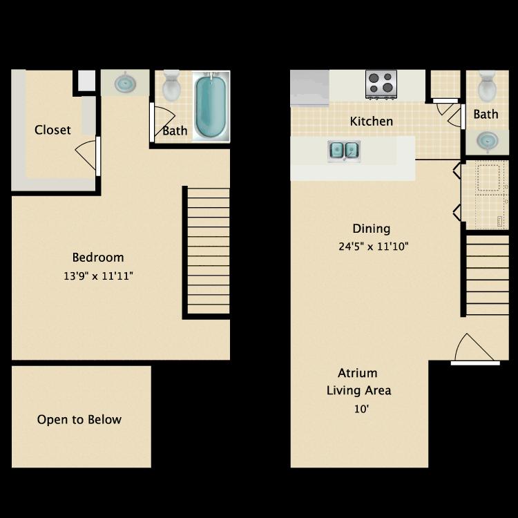 Floor plan image of Samantha