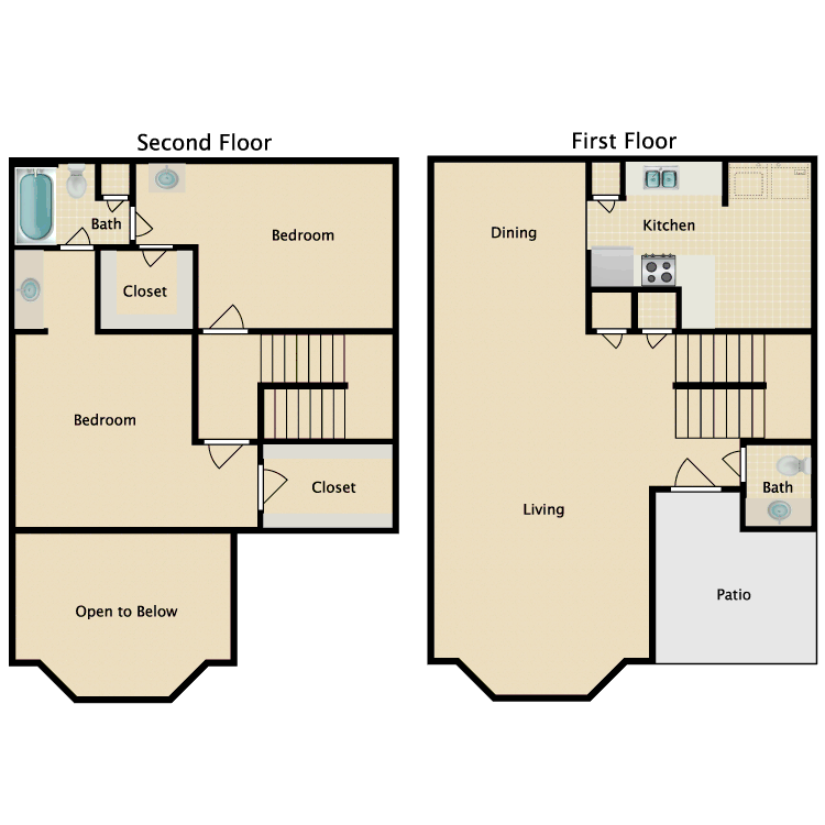 Floor plan image of Kathie