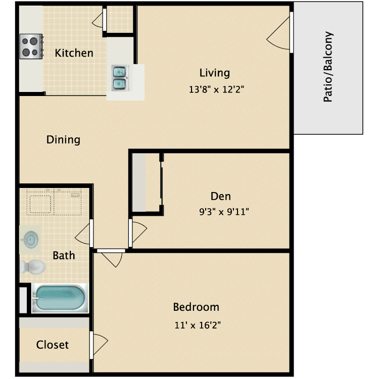 Floor plan image of Kimberley