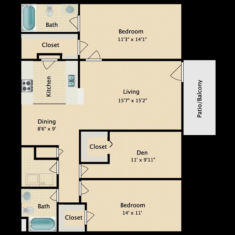 Floor plan image of Elizabeth