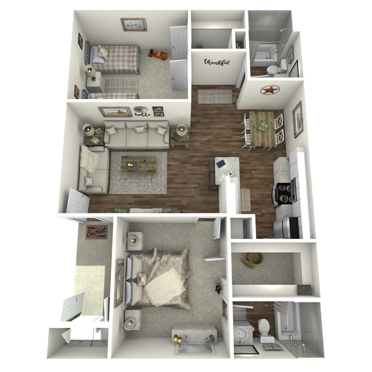 Floor plan image of Teri