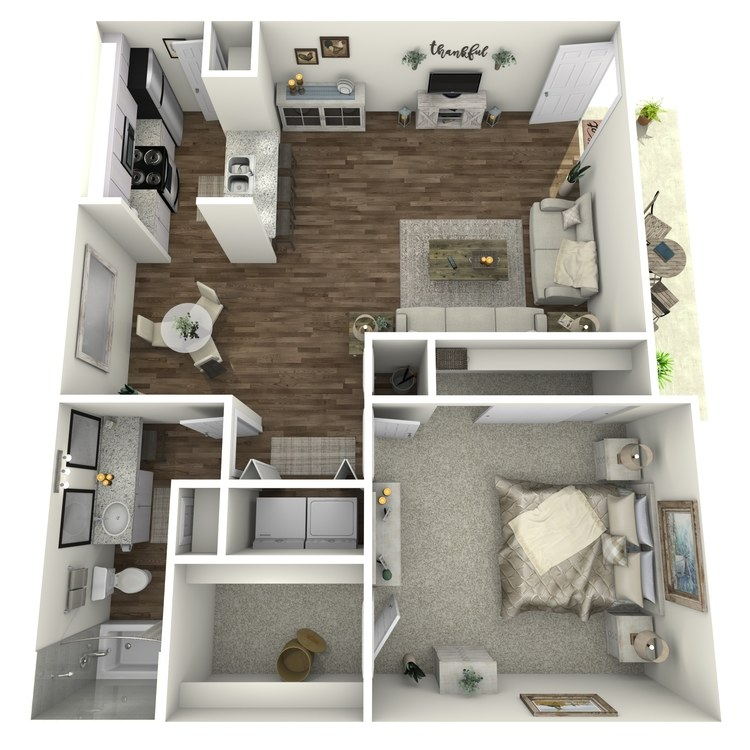 Floor plan image of Laurie