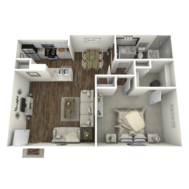 Floor plan image of Heidi