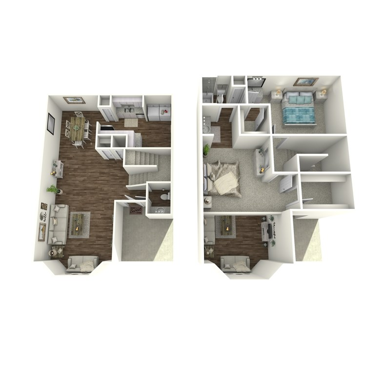 Floor plan image of Kathie