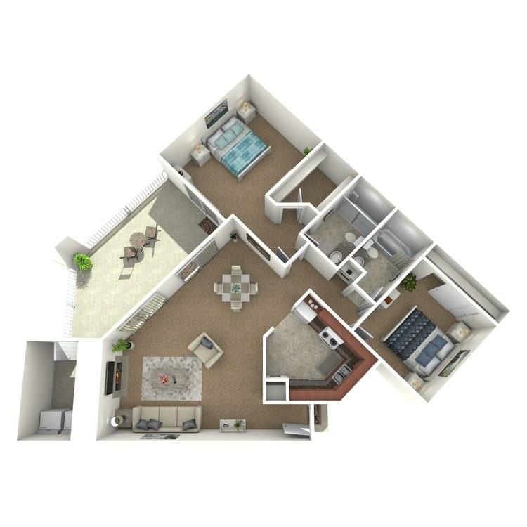 Floor plan image of B5