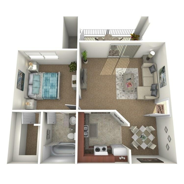 Floor plan image of AJ2
