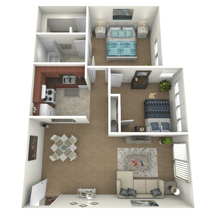 Floor plan image of B-R
