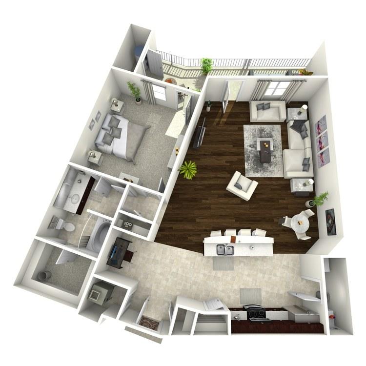 Floor plan image of The Harriet