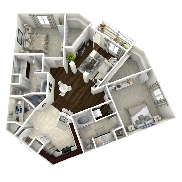 Floor plan image of The Morgan