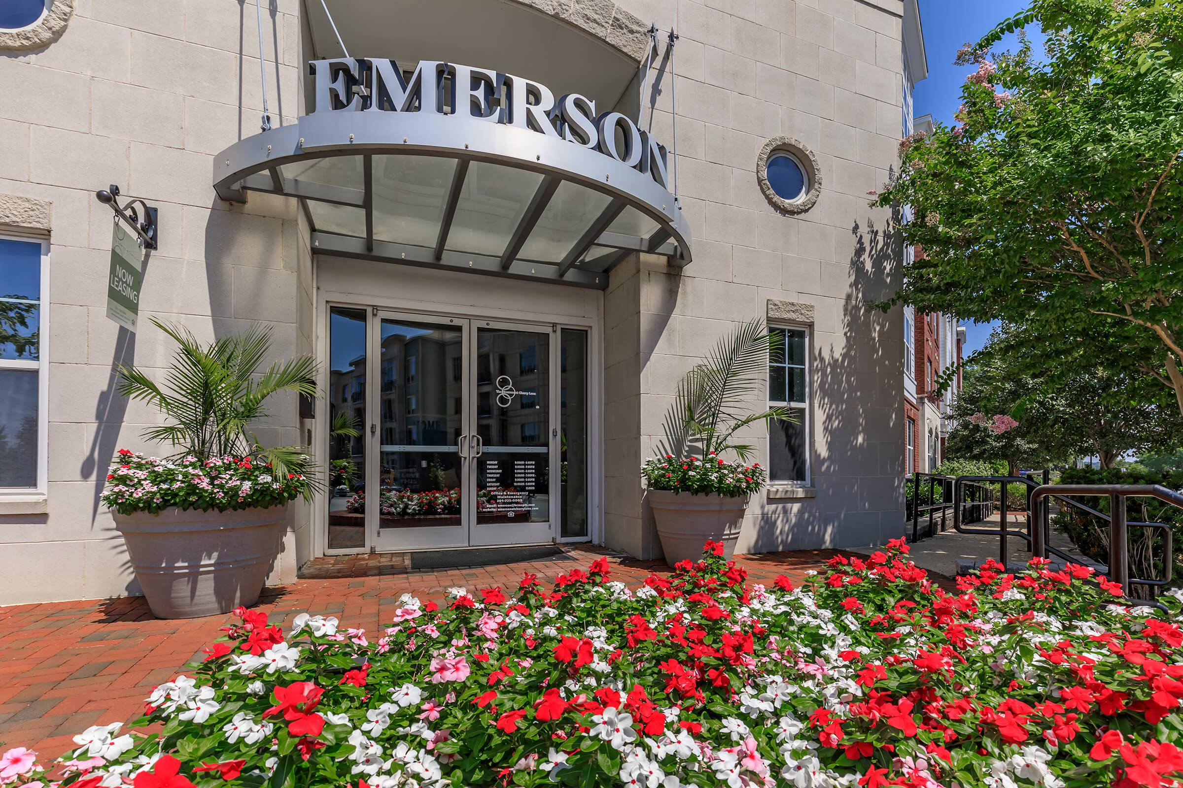 Landscaping at Emerson at Cherry Lane Apartments in Laurel, MD
