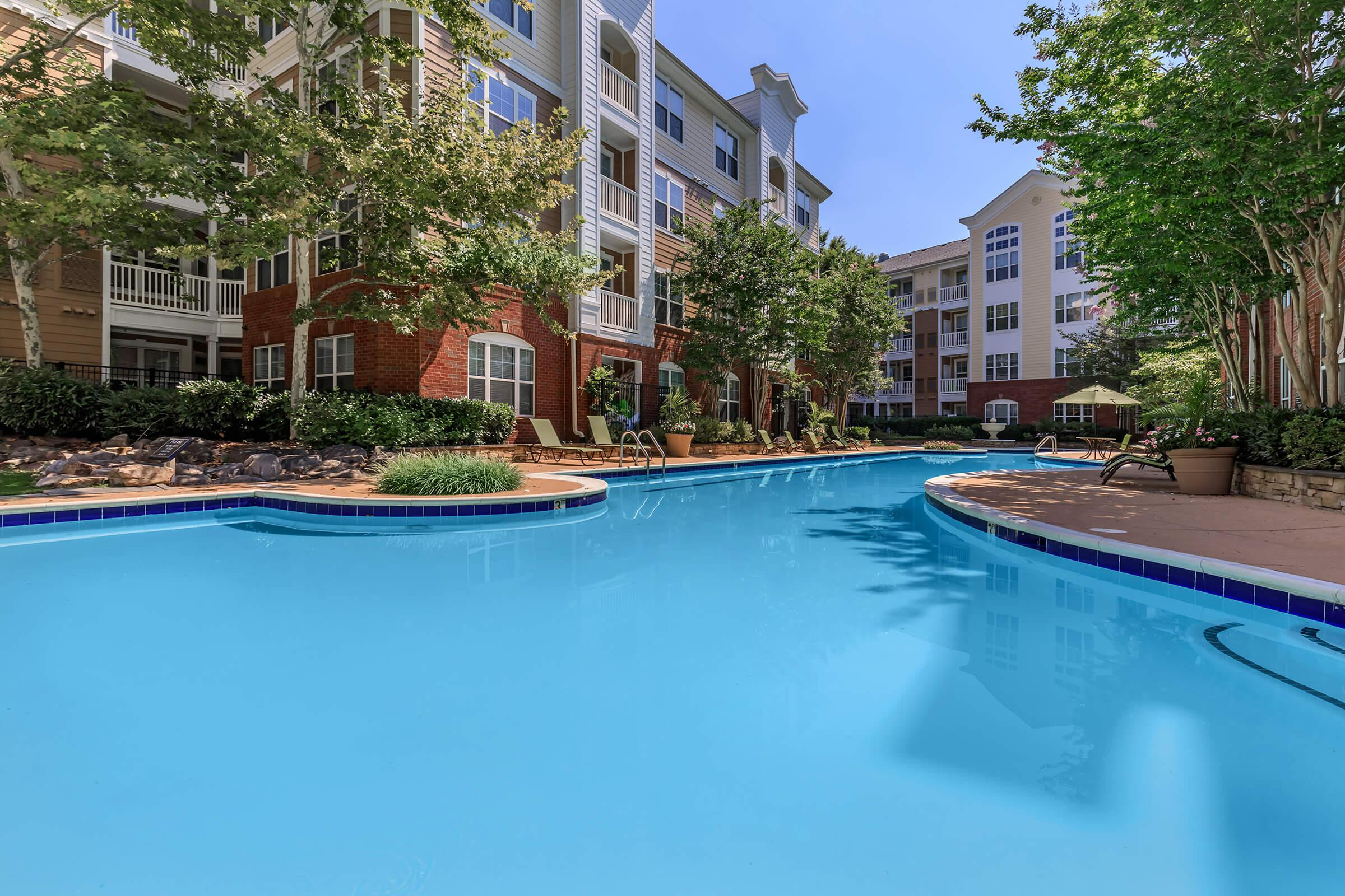 Pool at Emerson at Cherry Lane Apartments in Laurel, MD