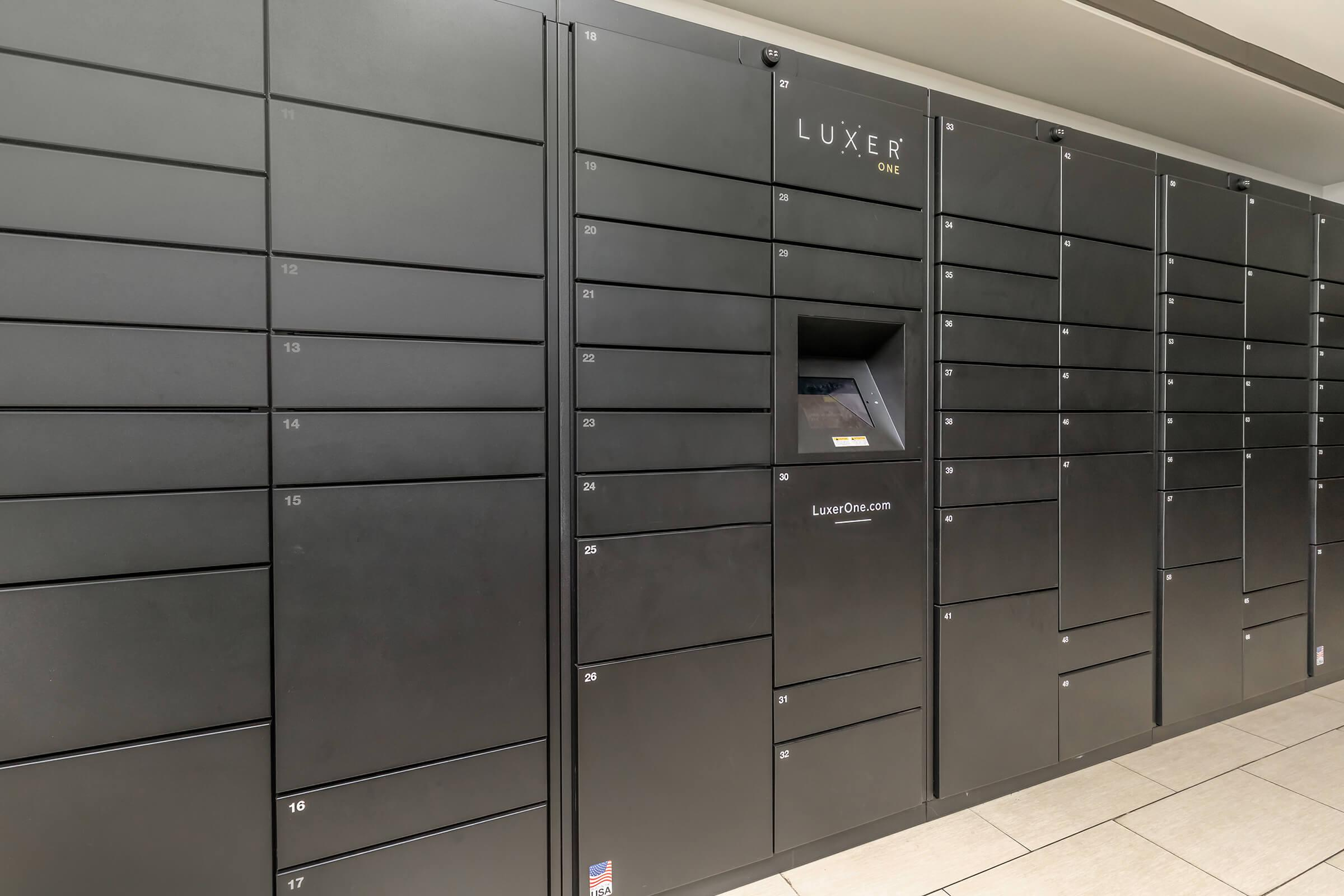 Mail Room at Emerson at Cherry Lane Apartments in Laurel, MD
