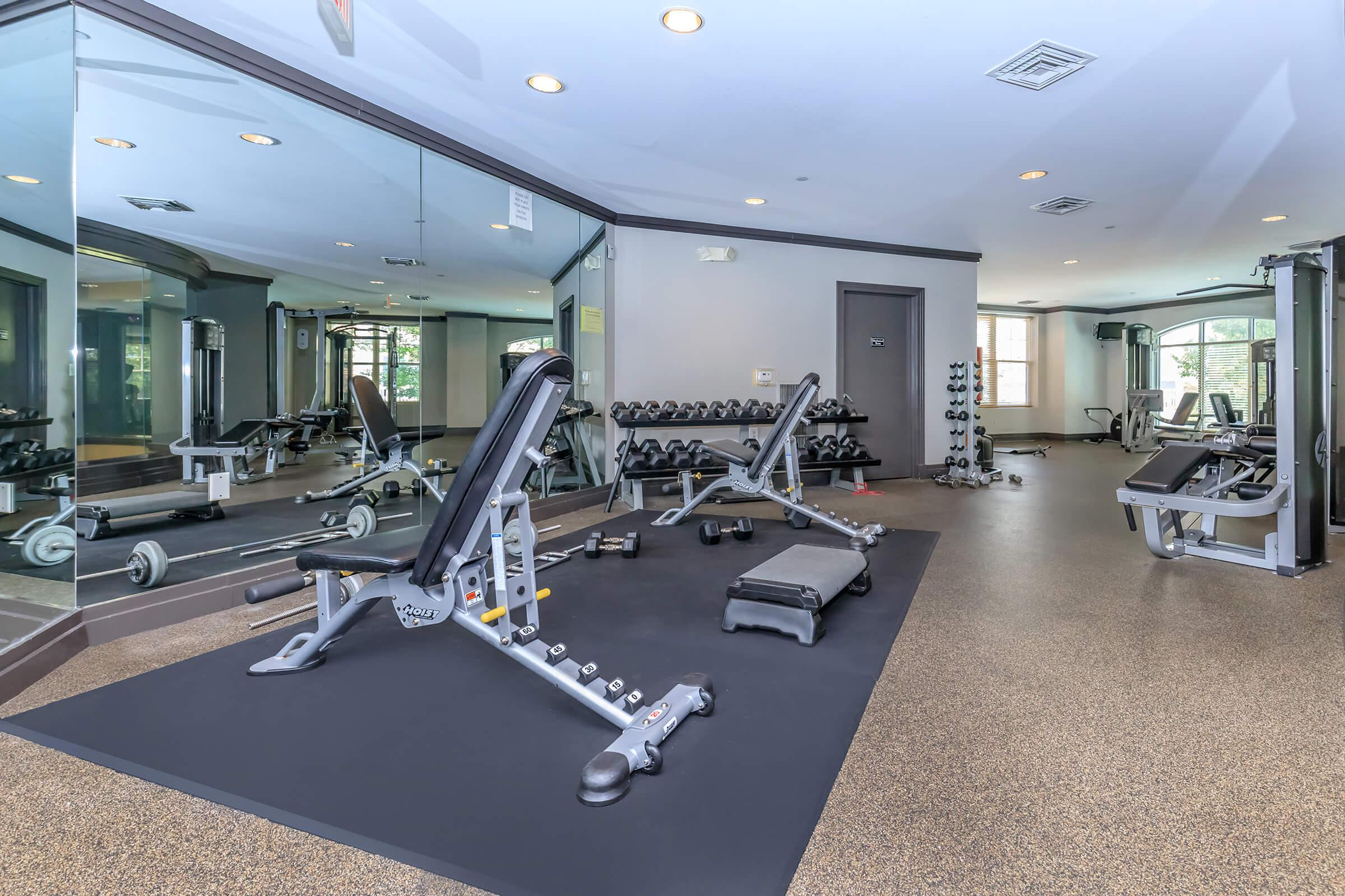 Fitness Center at Emerson at Cherry Lane Apartments in Laurel, MD
