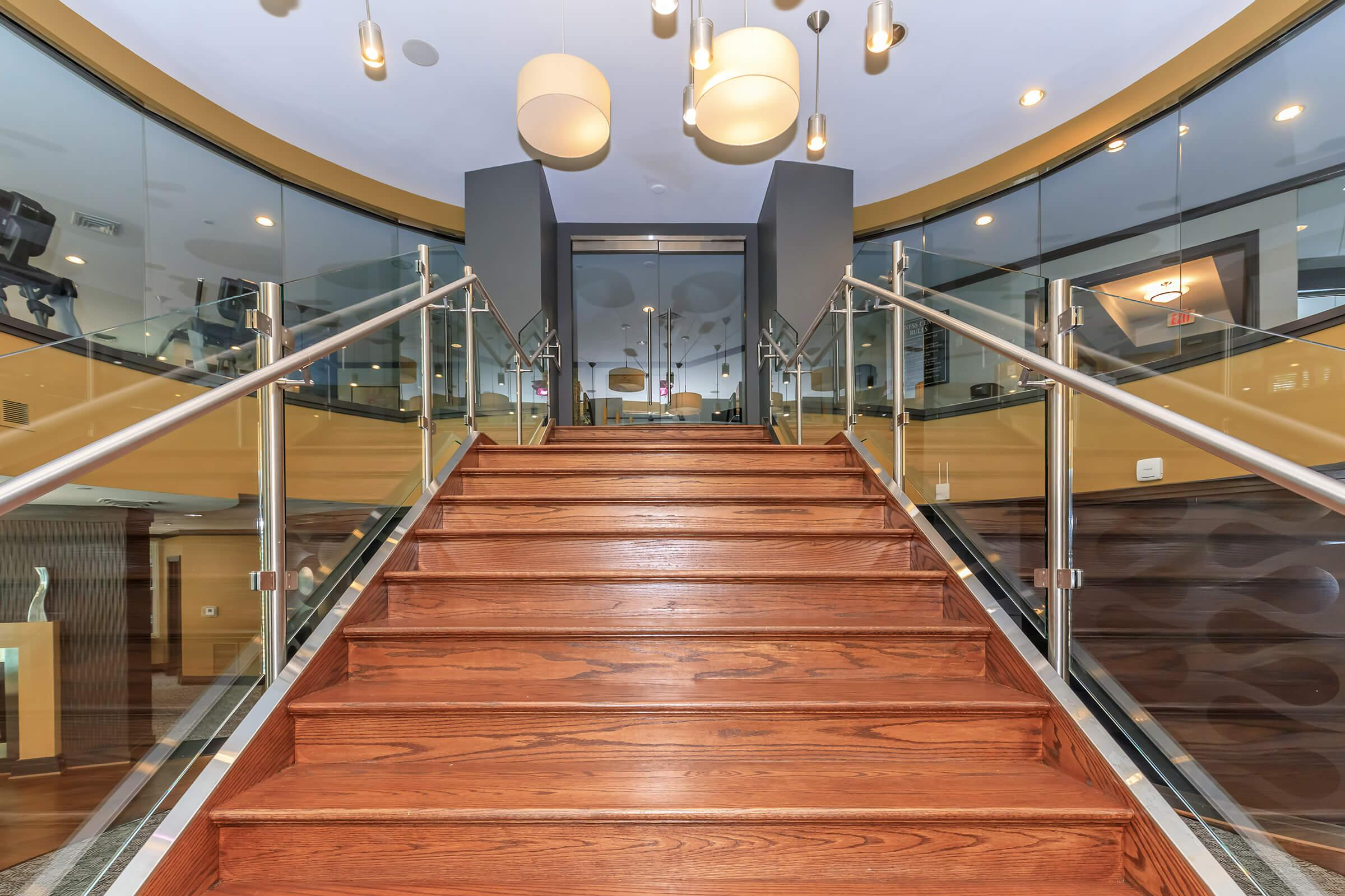 Stair Case at Emerson at Cherry Lane Apartments in Laurel, MD