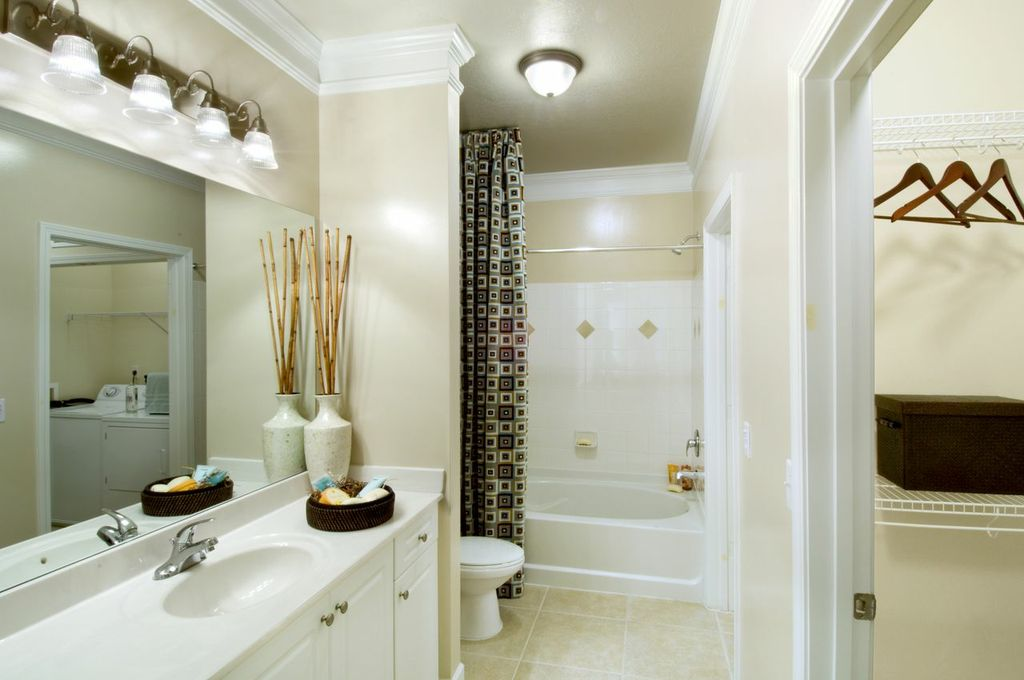 Bathroom  at Emerson at Cherry Lane Apartments in Laurel, MD