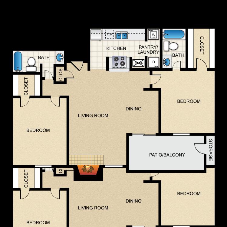 Floor plan image of Newport