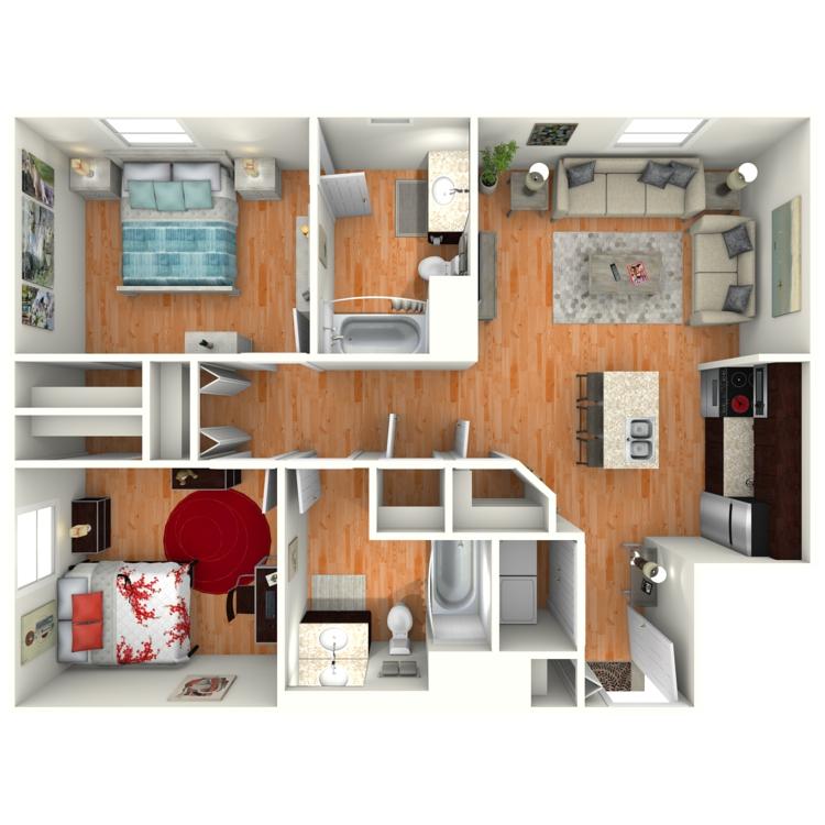 Floor plan image of The Cortez