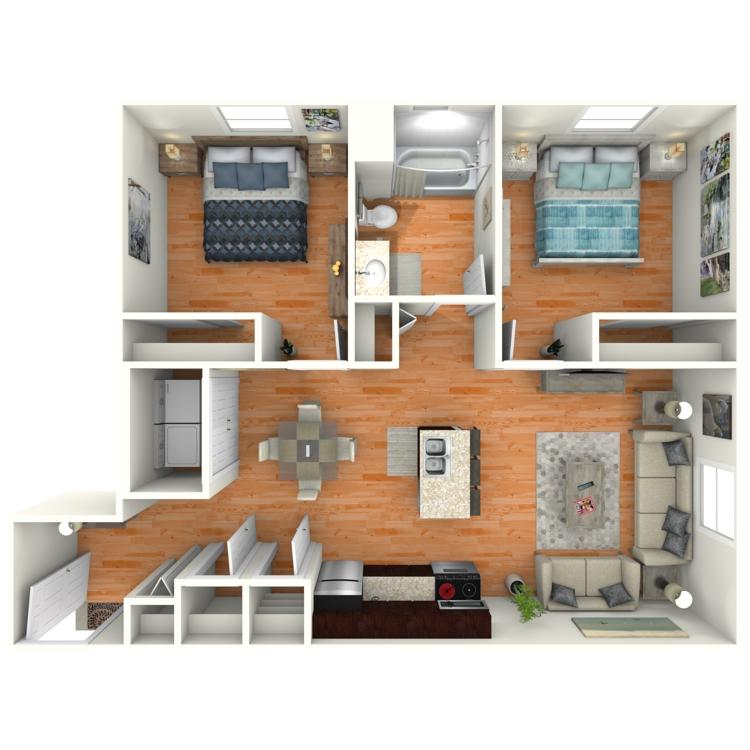Floor plan image of The Reeves