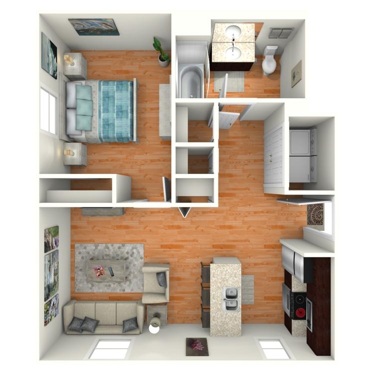 Floor plan image of The Block