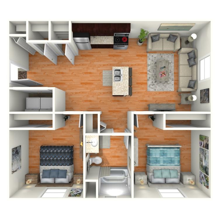 Floor plan image of The Stewart