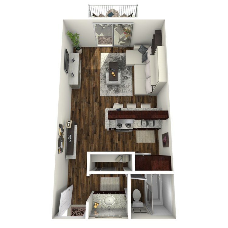 Floor plan image of Amsterdam