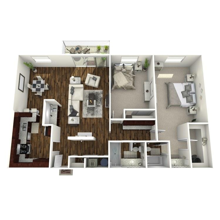 Floor plan image of Dresden