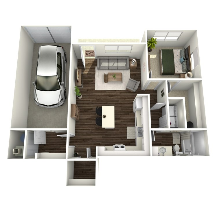 Floor plan image of The Mallone