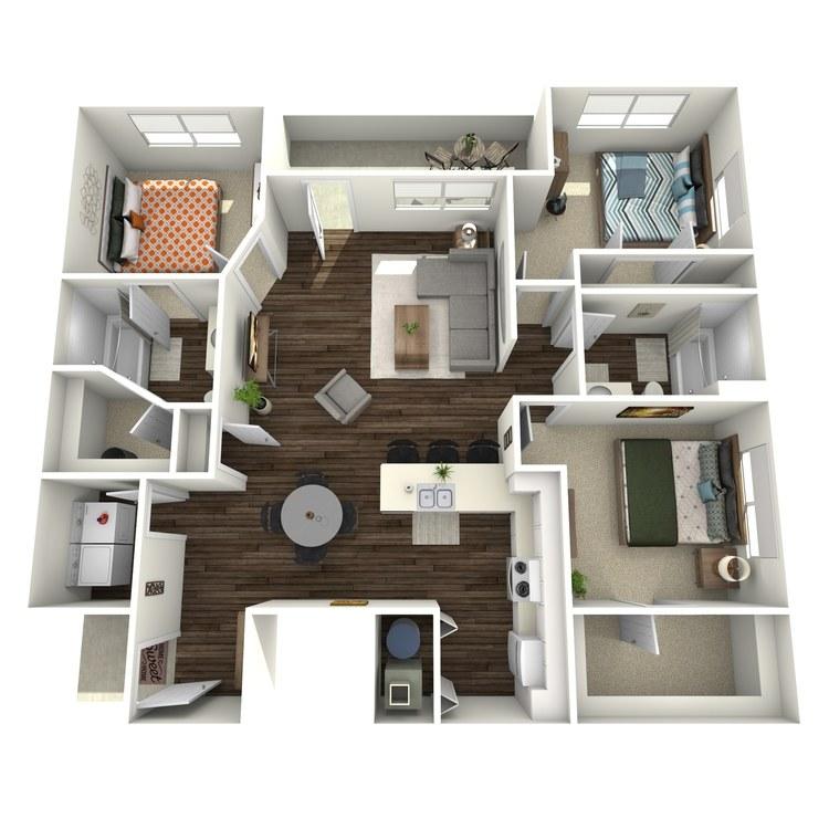 Floor plan image of The Solona