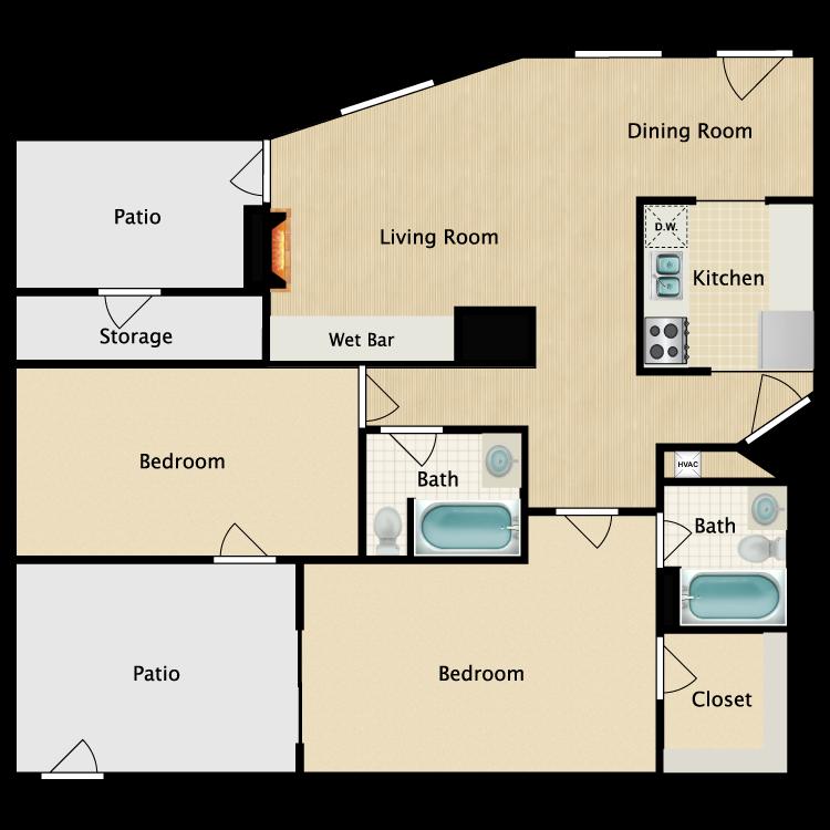 Floor plan image of Muget