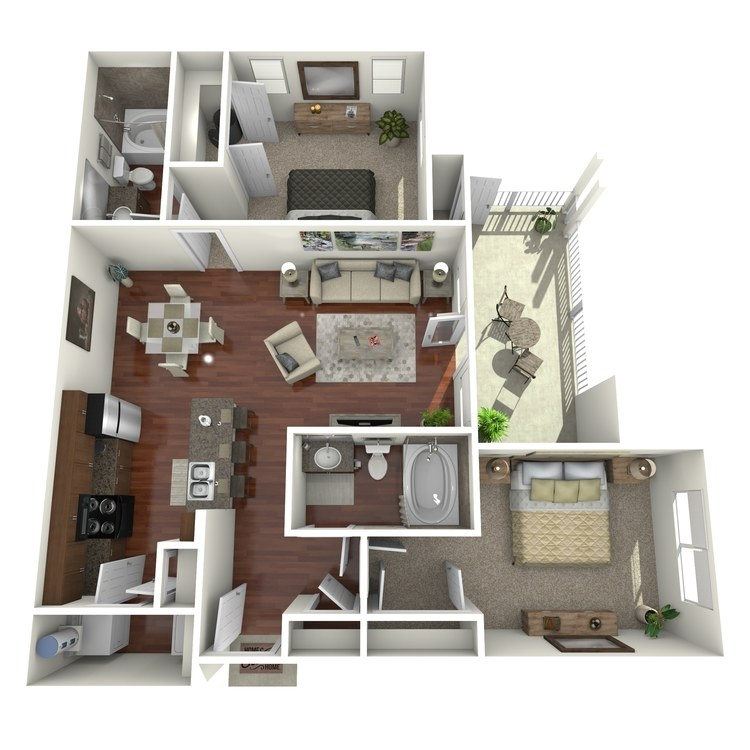 Floor plan image of River View
