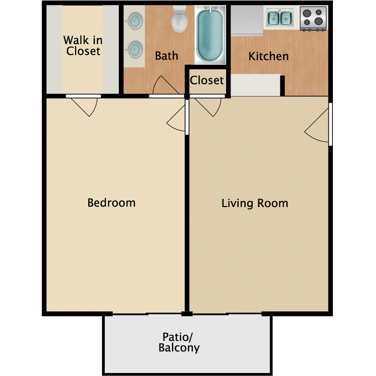 Floor plan image of Serenity