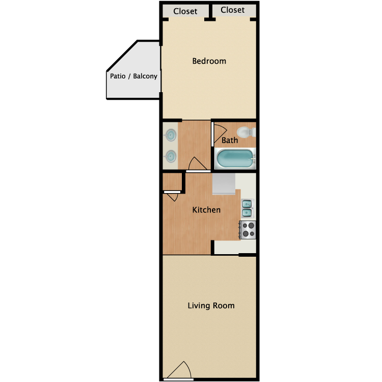 Floor plan image of Summit