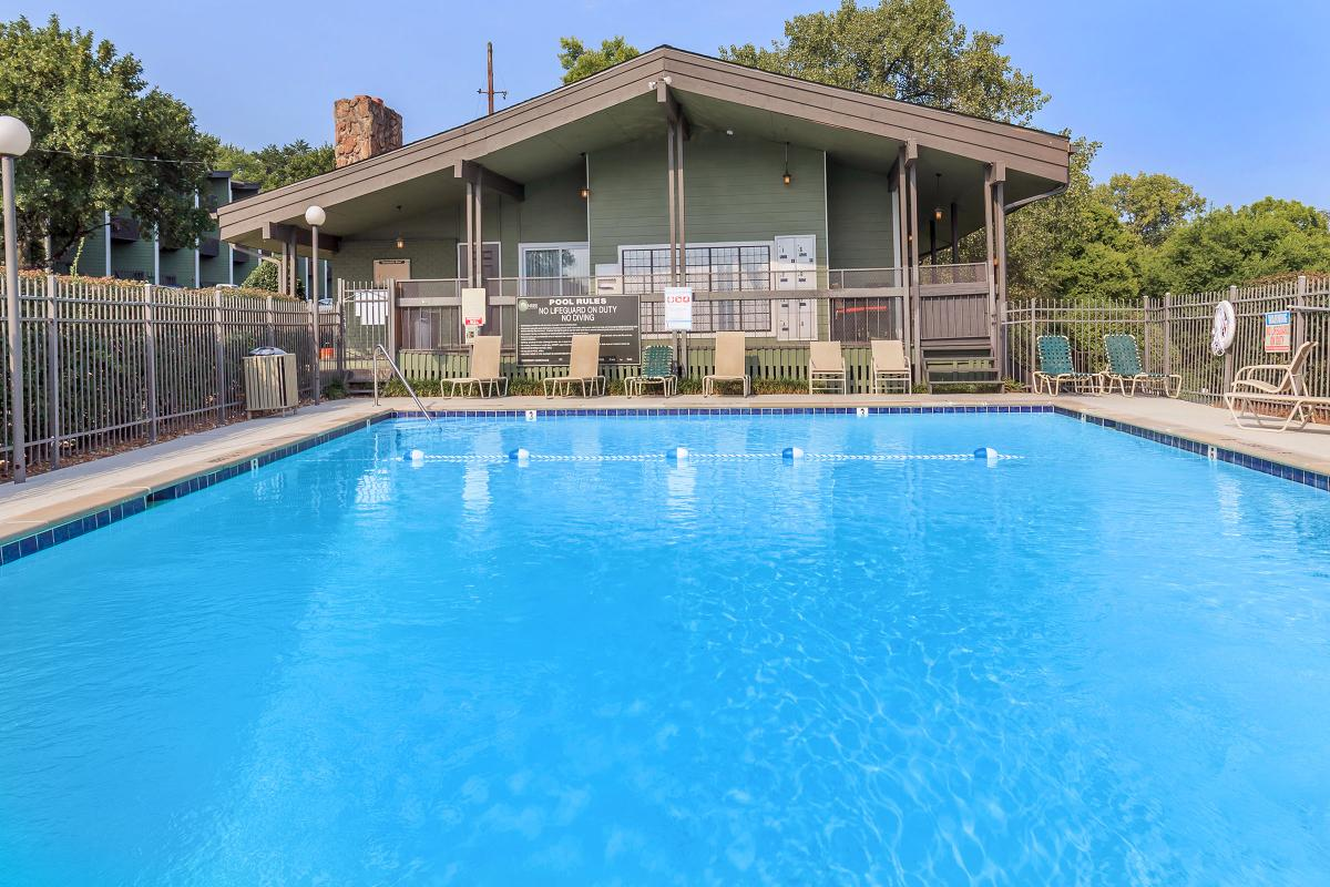 Swimming Pool at Sunrise Apartments in Nashville, Tennessee