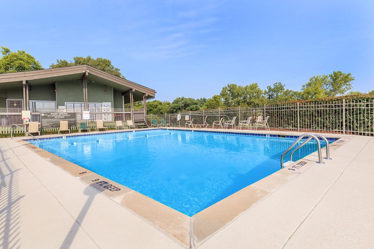The Swimming Pool at Sunrise Apartments