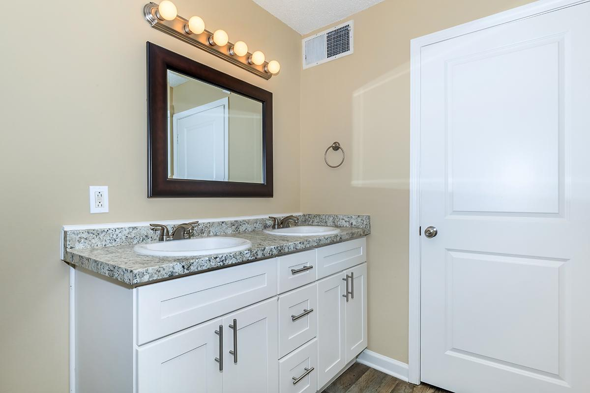 Summit Premium Bathroom at Sunrise Apartments in Nashville, TN