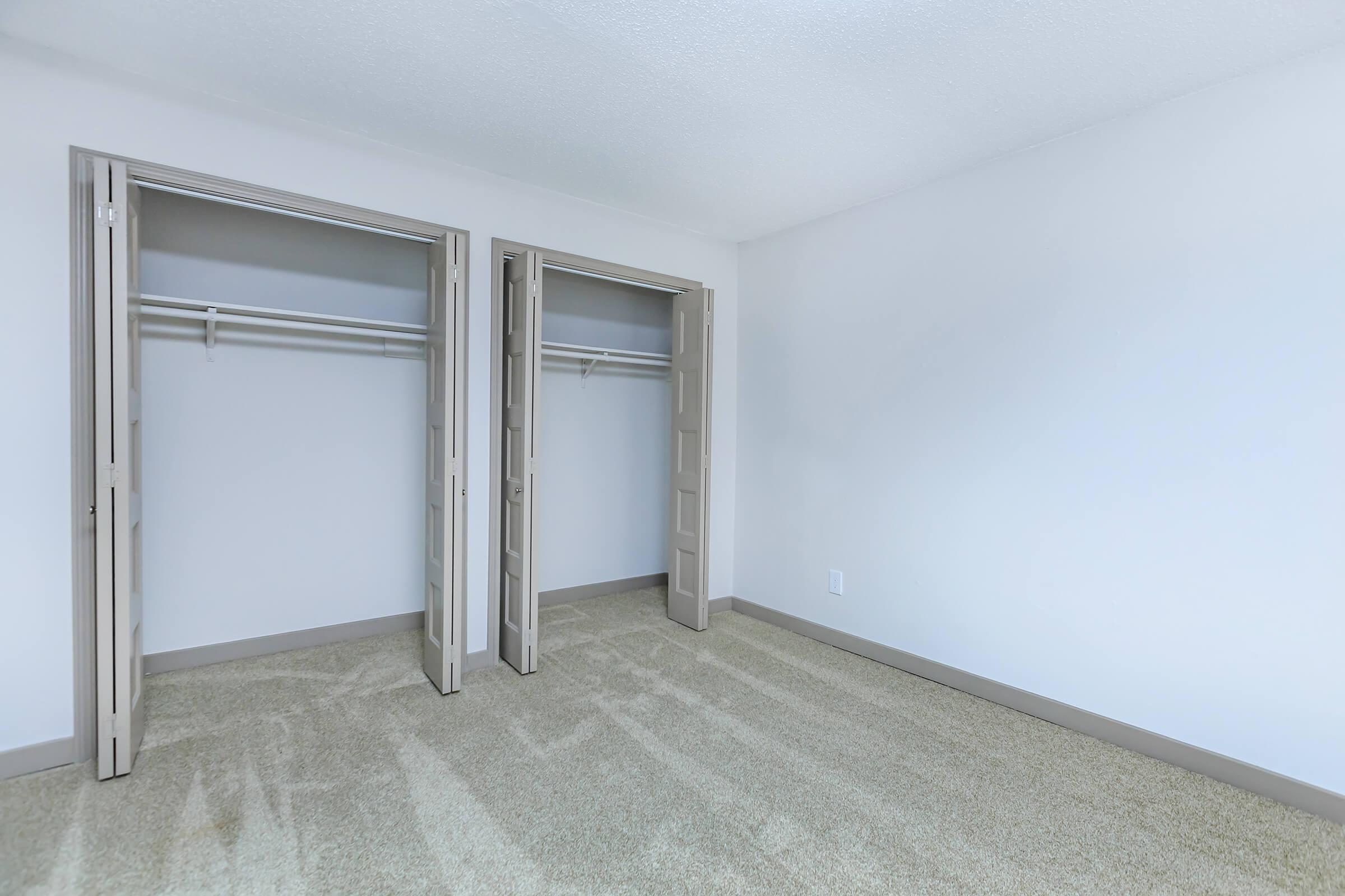 ample closet space at Sunrise Apartments in Nashville, Tennessee