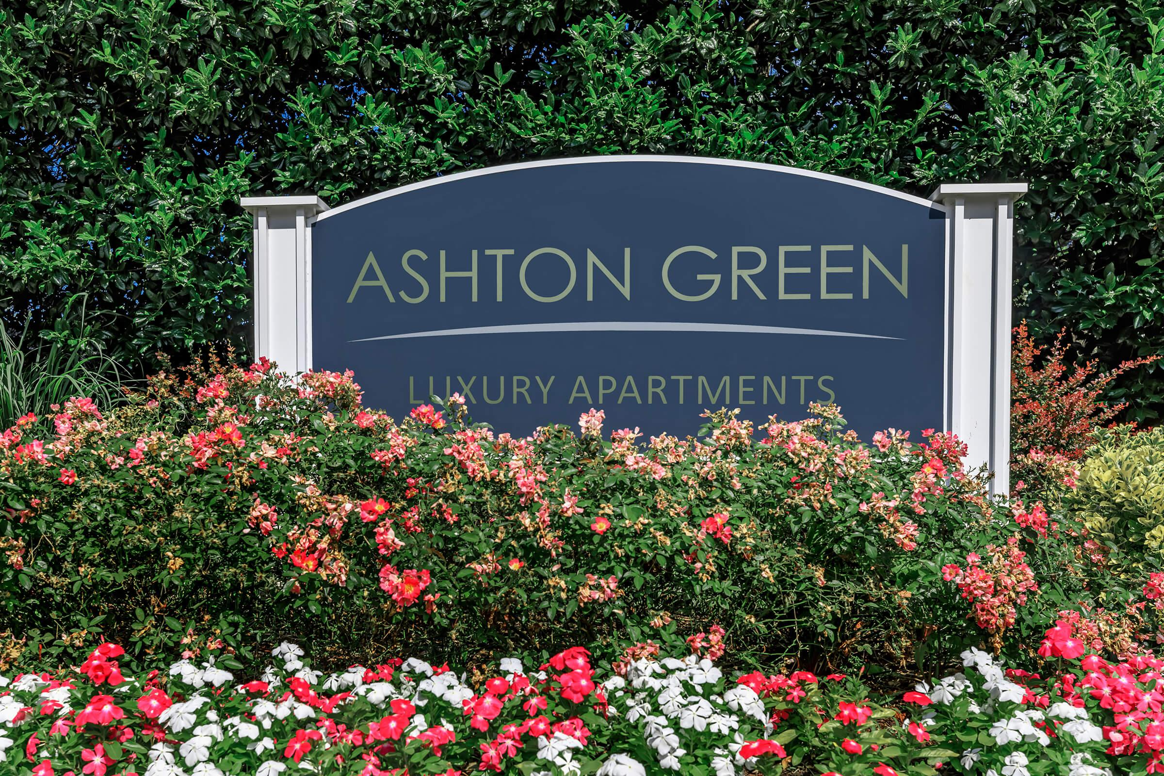 Landscaping at Ashton Green Apartments in Columbia, MD