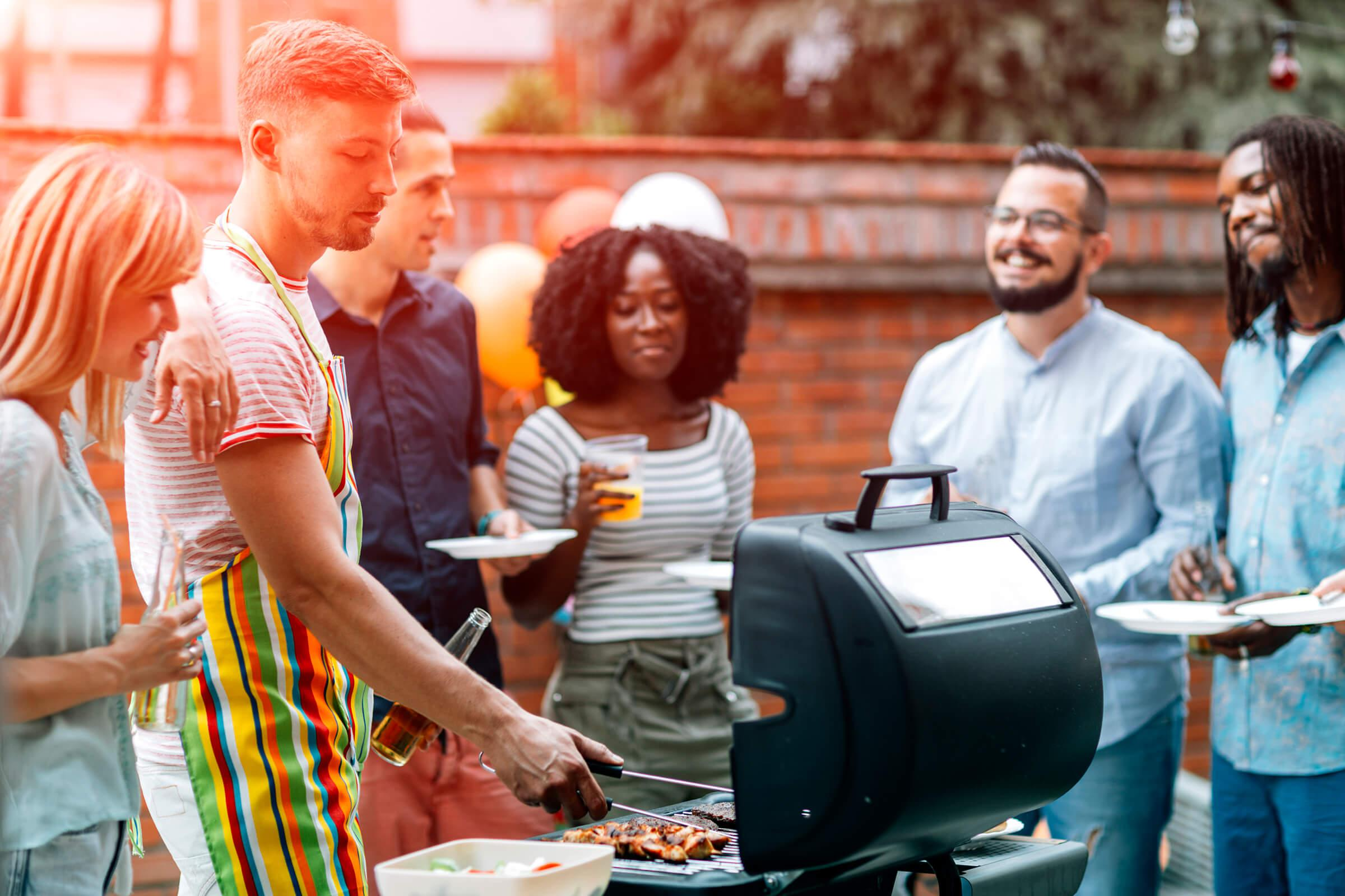 Barbecue at Ashton Green Apartments in Columbia, MD
