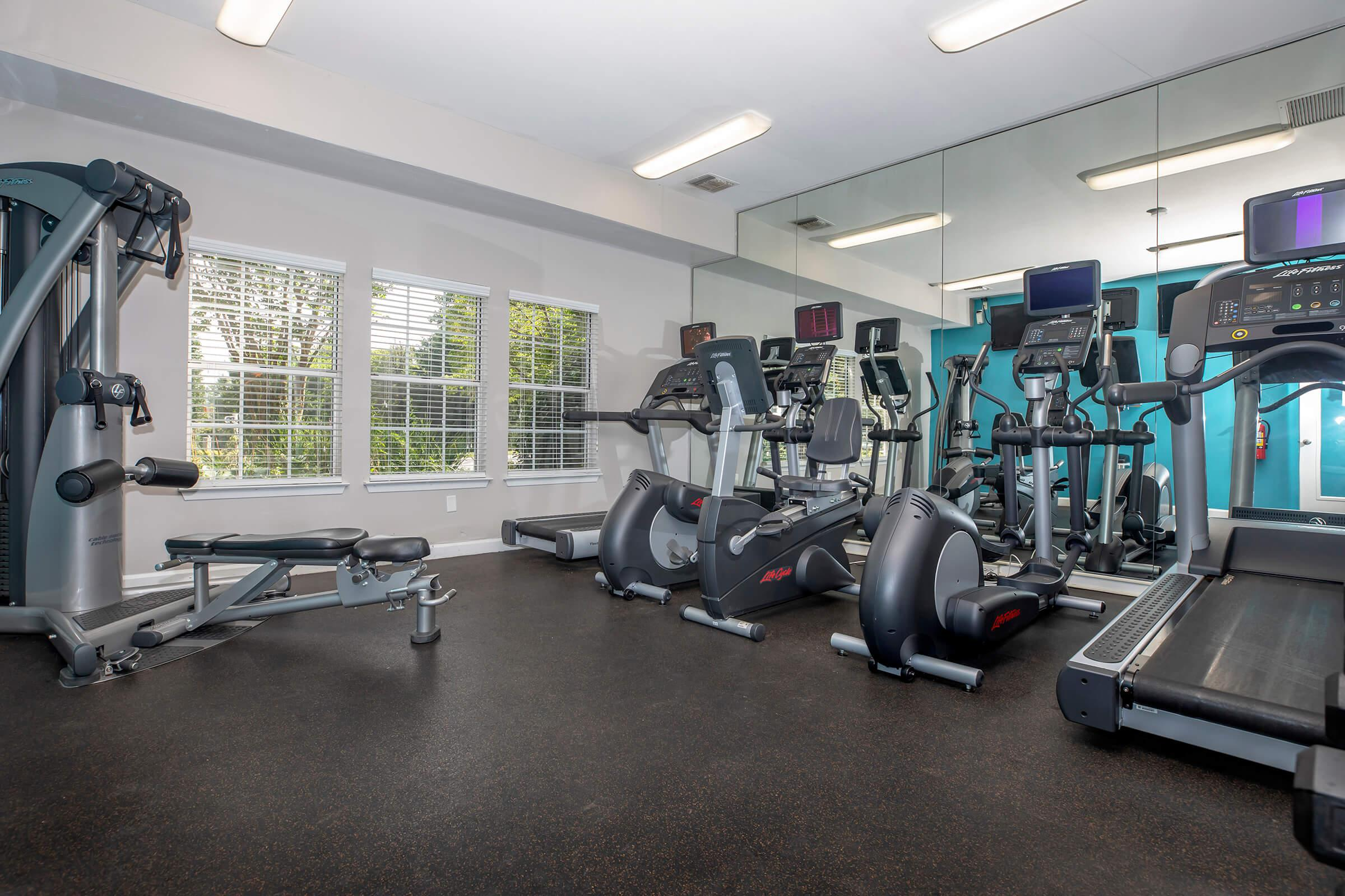 Fitness Center at Ashton Green Apartments in Columbia, MD