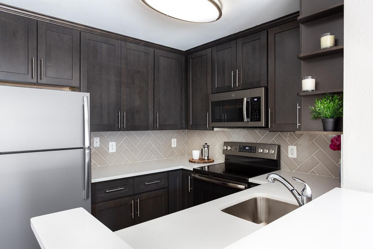 Kitchen at Ashton Green Apartments in Columbia, MD