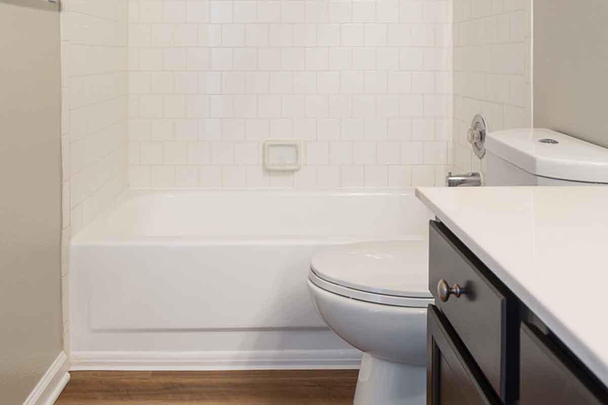 Bathroom at Ashton Green Apartments in Columbia, MD