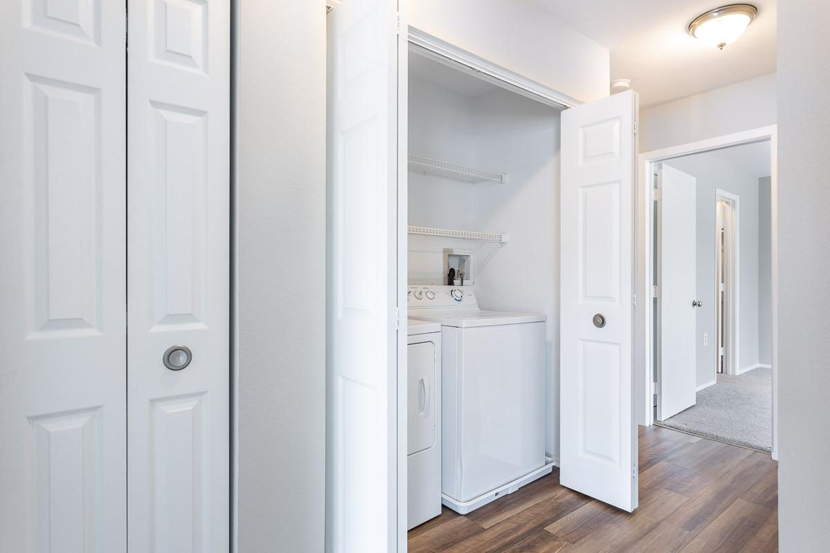 Closet at Ashton Green Apartments in Columbia, MD